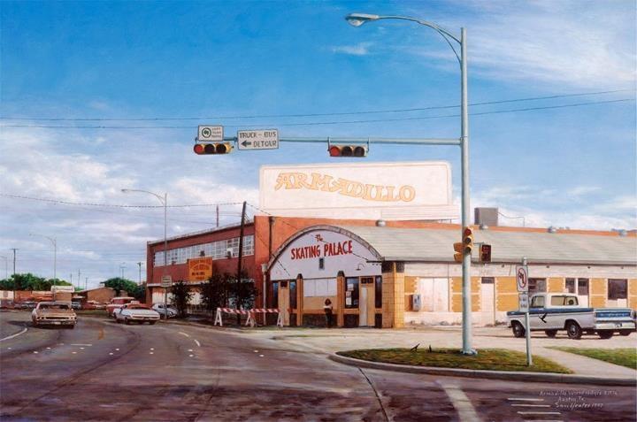 Armadillo World Headquarters building by Sam Yeates.